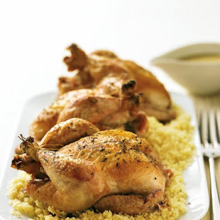 Cornish Game Hens with Apricot Sauce