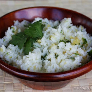 Lime-Cilantro Rice with Pineapple Recipe