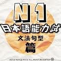 日語N1一級能力試(句型文法篇) icon
