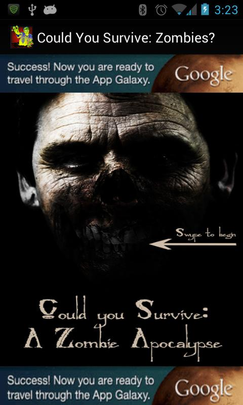 Could You Survive: Zombies - screenshot
