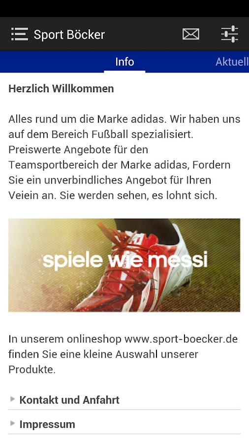 Sport Boecker - screenshot