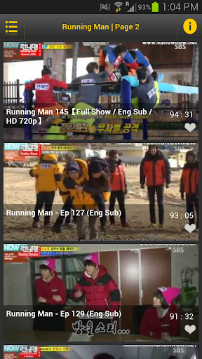 Watch Running Man Korean