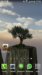 Magic Tree Live Wallpaper screenshot 14
