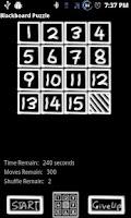 Screenshot of BB Blackboard Puzzle