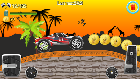 Hill Climb Truck Race screenshot 11
