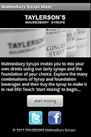 Screenshot of Coffee Syrups Flavour Chooser