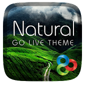 Natural GO Launcher Live Theme