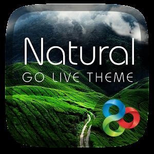 Natural GO Launcher Live Theme APK