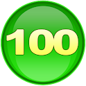 kids math count to 100 icon