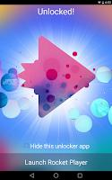 Screenshot of Rocket Player Premium Unlocker