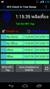 NFC Check-in Time Stamp- screenshot thumbnail