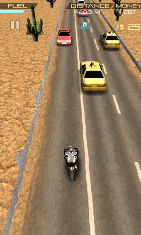 Crazy Moto Racing Free- screenshot