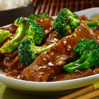 Ginger Beef & Broccoli.
