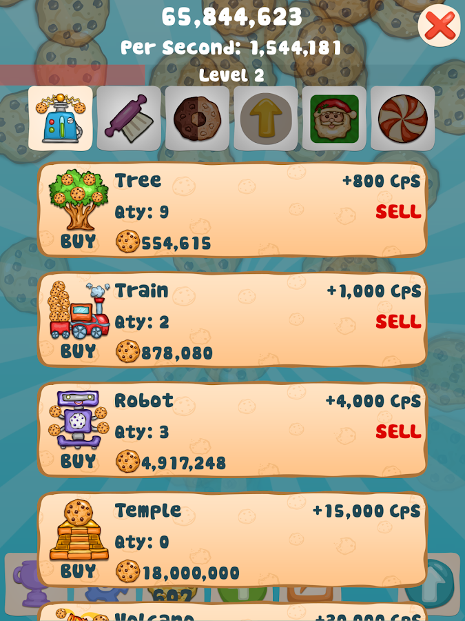 Cookie Clicker Collector- screenshot