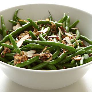 Green Beans with Crisp Shallots