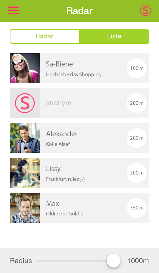 leute kennenlernen app Frankfurt