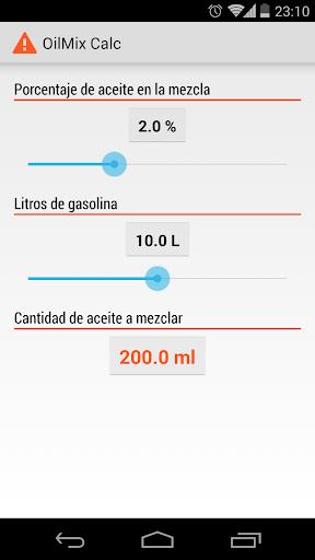 OilMix Calc
