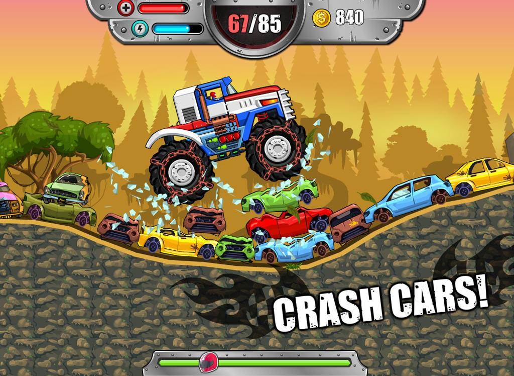 Monster Wheels: Kings of Crash- screenshot