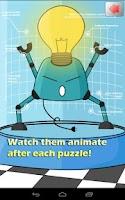 Screenshot of Kids Robot Puzzle Factory Lite