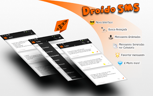 Droido - Mensagens SMS prontas - screenshot thumbnail