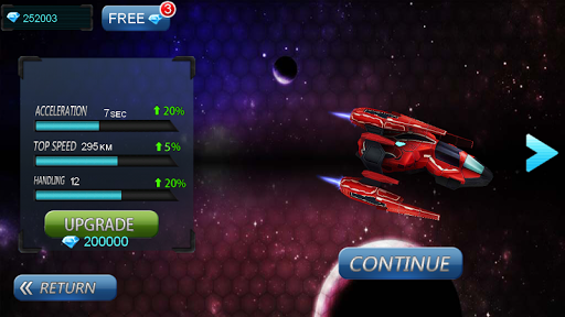 Space Racing 3D - Star Race  screenshots 3