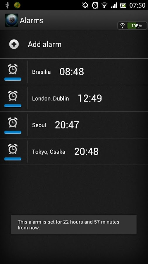 World Clock - screenshot