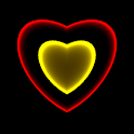 3D Neon Love Shower PRO LWP icon