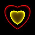 3D Neon Love Shower PRO LWP icon
