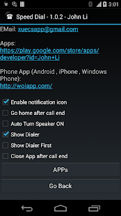 Speed Dial for Android Wear- screenshot thumbnail