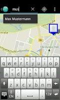Screenshot of Contact Map