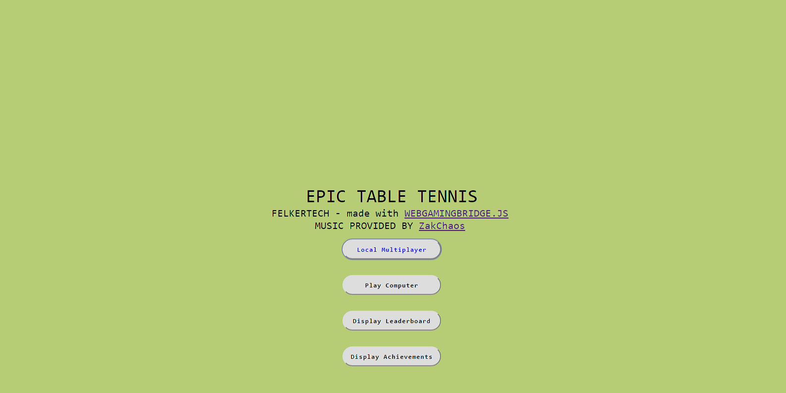 Epic Table Tennis- screenshot