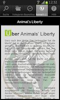Screenshot of Animals' Liberty - Wer macht's