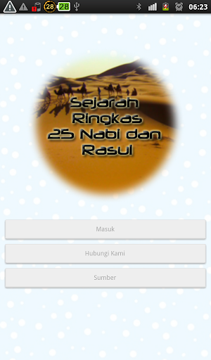 Sejarah Ringkas 25 Nabi Rasul