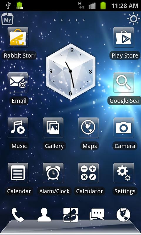 RabbitLauncher3D Lost In Space - screenshot