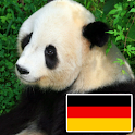 Animals in german logo