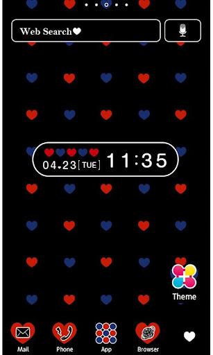 Polka-Dot Heart Wallpaper 1.3 Windows u7528 1