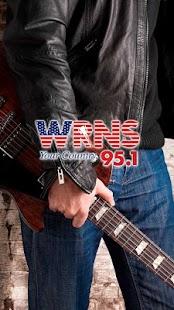 95.1 WRNS - screenshot thumbnail