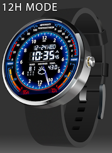 V05 WatchFace for Moto 360 - náhled
