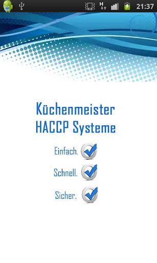 HACCP Demo APP
