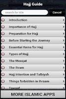 Screenshot of Hajj Guide (Islam)