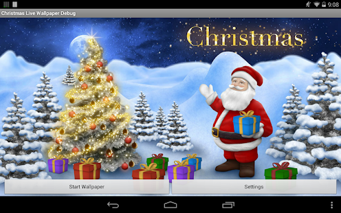 Christmas Live Wallpaper Pro- screenshot thumbnail
