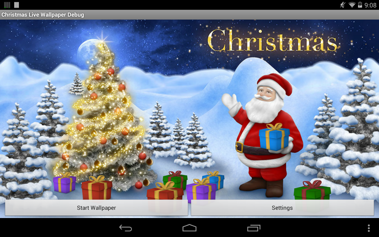 Christmas Live Wallpaper Pro- screenshot