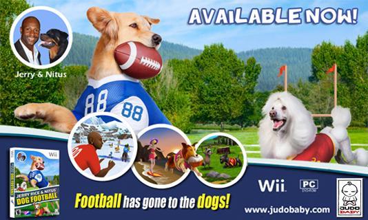 Jerry Rice Dog Football - screenshot