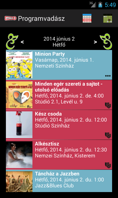 Programvadász- screenshot