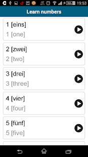 Learn German - 50 languages - screenshot thumbnail