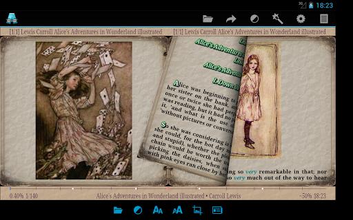 AlReader -any text book reader 1.911805270 screenshots 9