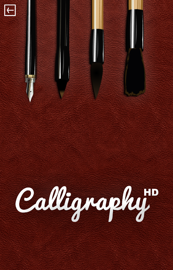 Calligraphy HD- screenshot