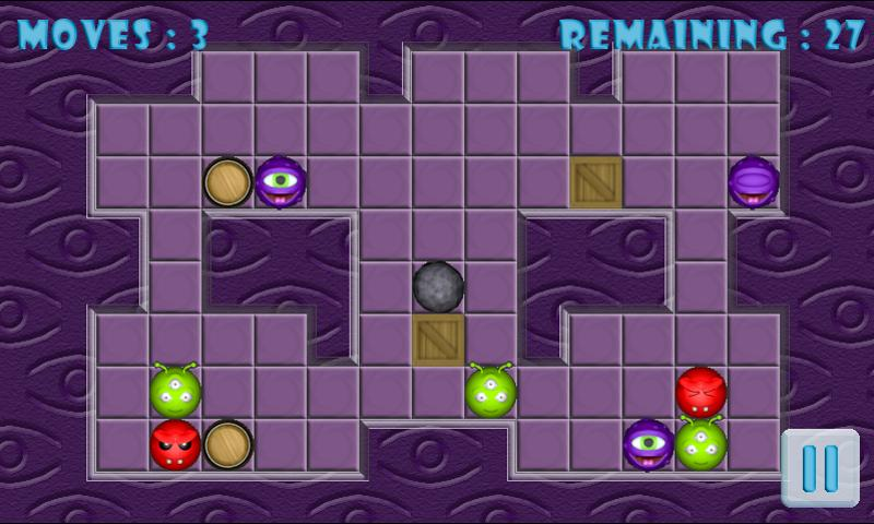 Hardest retro puzzle game ever - screenshot