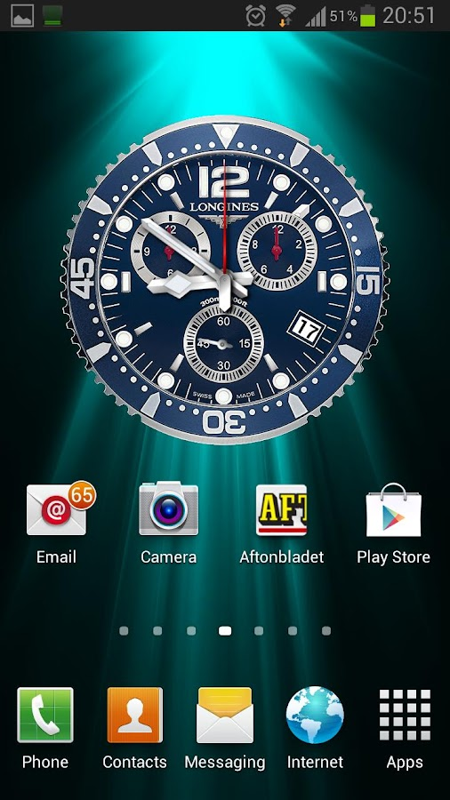 LONGINES HYDROCONQUEST LIVE WP - screenshot