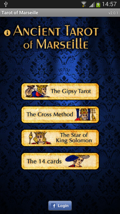 Tarot of Marseille- screenshot